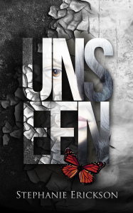 The cover for Unseen, coming November 19, 2014.